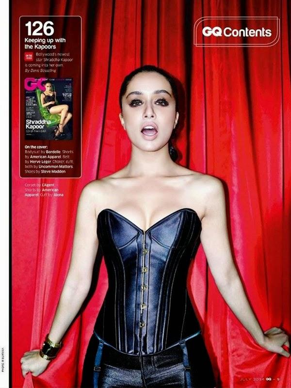 Shardha Kapoor Bikini Hot & bold New Bollywood Actress Pics 2016 on maxim