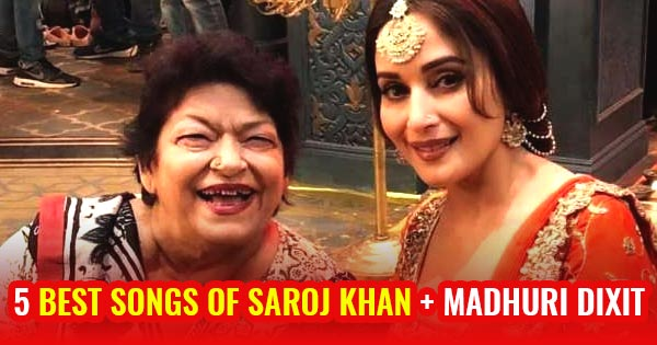 saroj khan best song choreopgraphy with madhuri dixit dhak dhak ek do teen