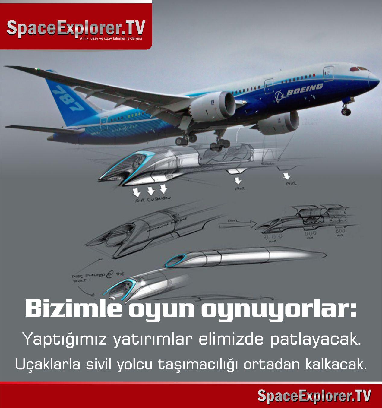 Havacılık, Sivil Uçaklar, Sivil Havacılık, Boeing, SpaceX, Elon Musk, ABD, Türk Hava Yolları, Türkiye, Mehmet Fahri Sertkaya,