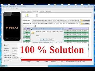 Arti Pesan Error SP Flash Tool saat Flashing HP MediaTek (MTK)