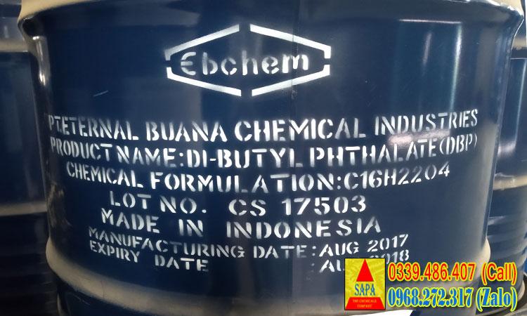 Chất hóa dẻo Di-butyl Phthalate (DBP)