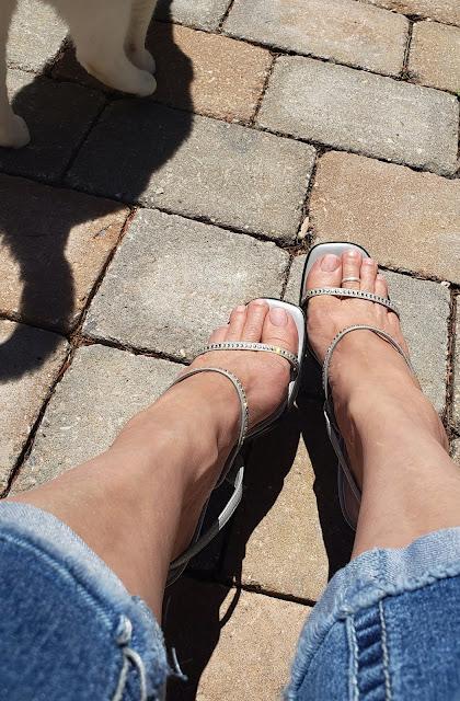 zoya corinna in rhinestone heels