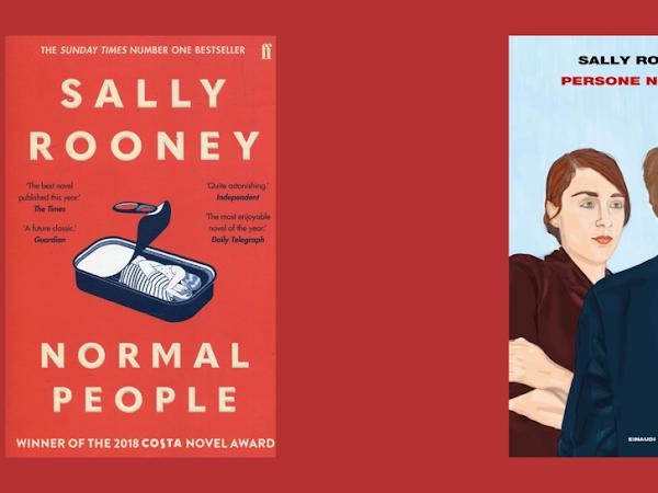 NORMAL PEOPLE - SALLY ROONEY (book & tv series)
