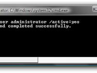 Cara Aktifkan Administrator Windows 7