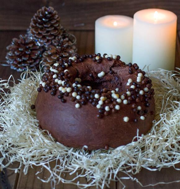Roscon De Reyes De Chocolate