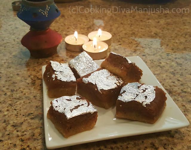 Almond-chocolate-burfi-recipe