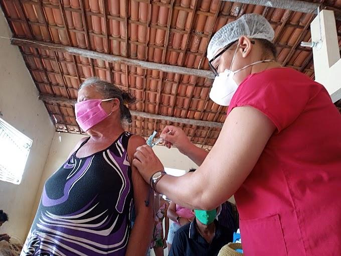 Muquém de São Pedro/Cariré-CE recebeu atendimentos da Equipe de Saúde da Família