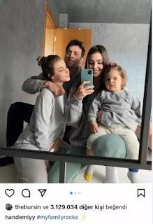 Hande Ercel's 3 million likes on her happy recent Instagram post.