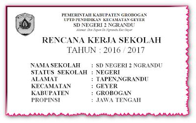 Download Rencana Kerja Sekolah ( RKS )