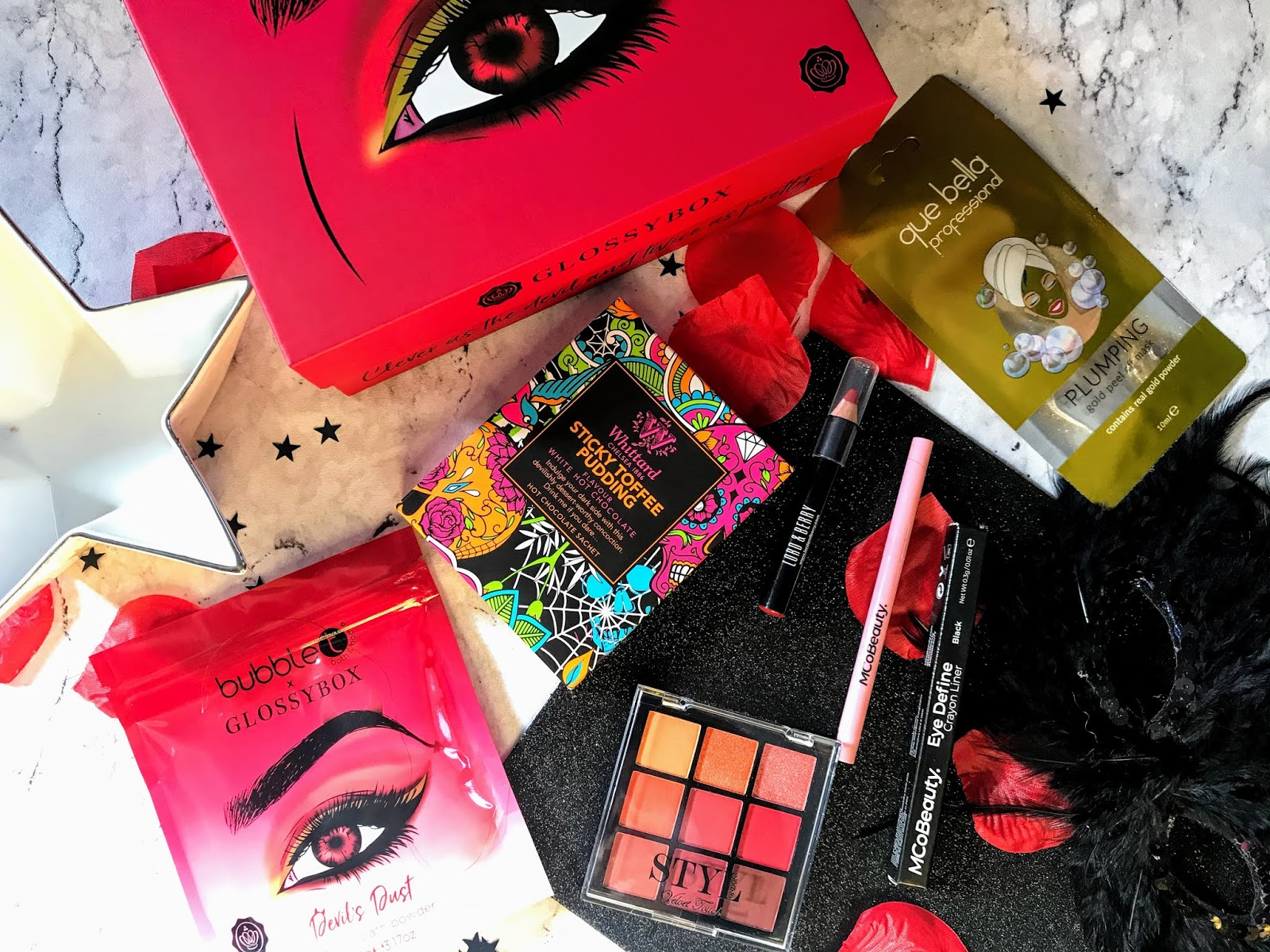 Glossybox October 2019 | Angel or Devil | Review
