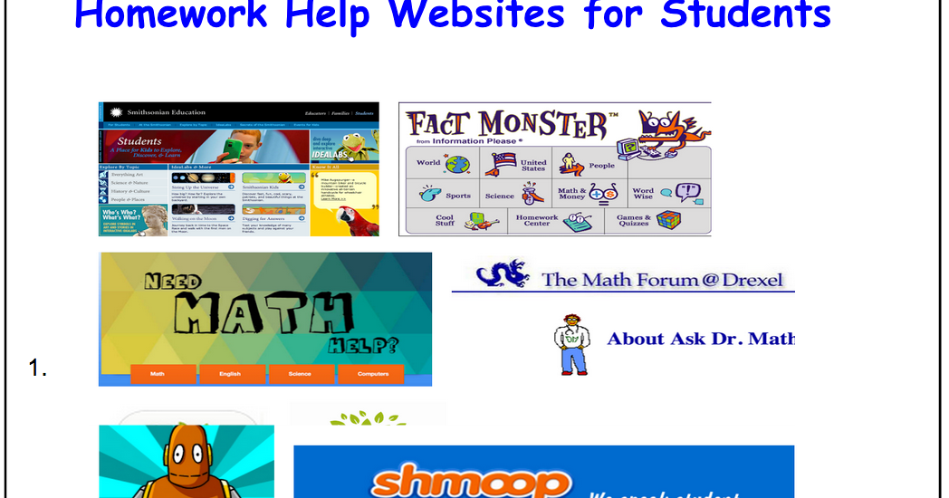 homework sites for students