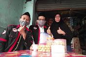 Usai Salat Ied, LSM SIGAB Berbagi Masker Gratis di Jakarta Utara