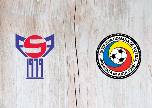Faroe Islands vs Romania -Highlights 12 October 2019