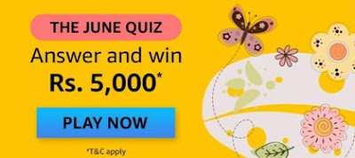 Amazon The June Quiz Answers