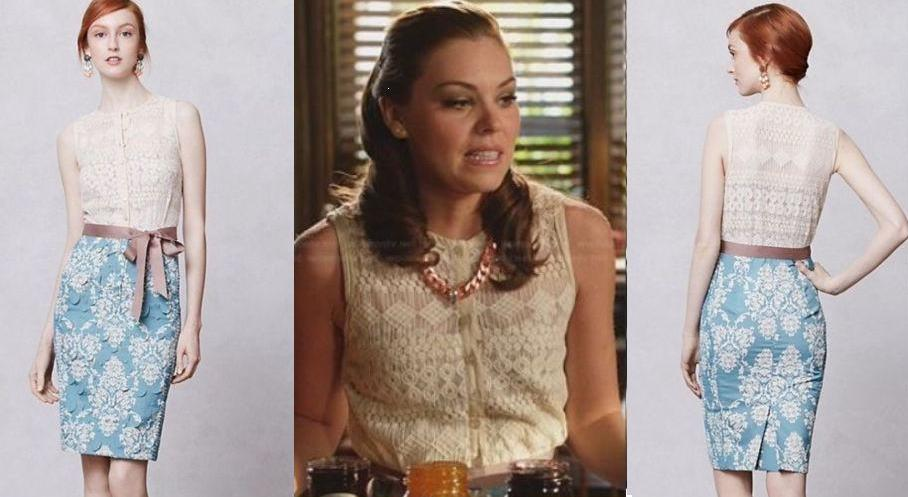 Seen On 'Hart of Dixie - Kaitlyn Black in Anthropologie Dress