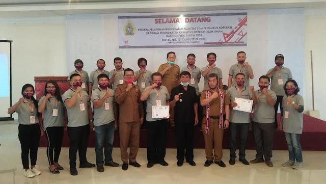 Pemkab Samosir Gelar Pelatihan Peningkatan Kualitas SDM Pengurus Koperasi