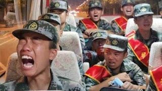 Waduh! Dikirim Perang Lawan India, Puluhan Tentara China Menangis Ketakutan