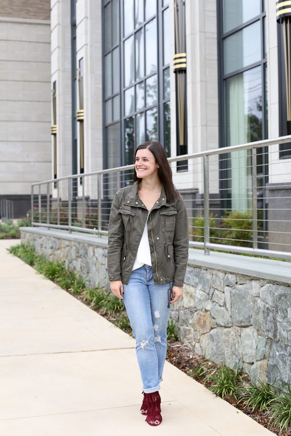 Naturally Me, Utility Jacket for fall