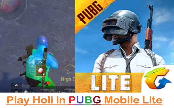 PUBG Mobile Lite: How to get Paintball/Holi-ball to play Holi
