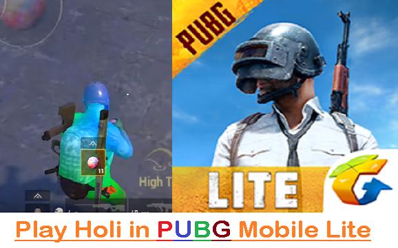 PUBG Mobile Lite: How to get Paintball/Holi-ball to play Holi