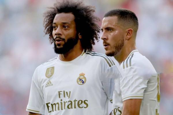 ظهير ريال مدريد يدافع عن هازارد