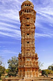 india chittorgarh vijay stambh 4889370