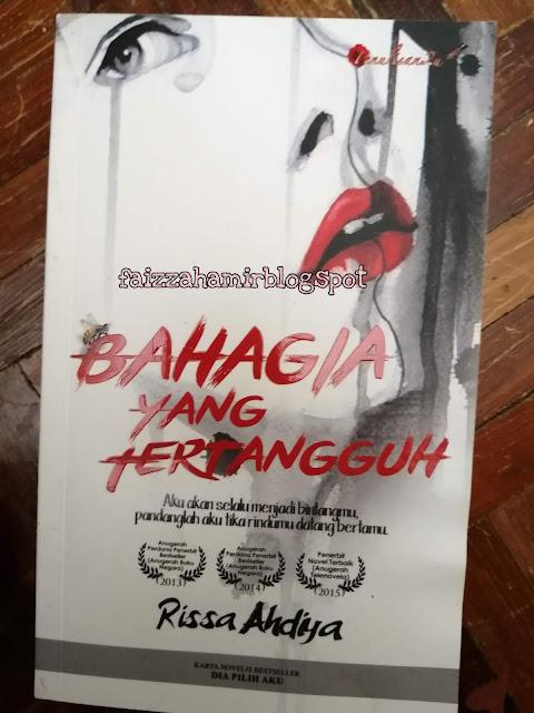 REVIEW NOVEL ~ BAHAGIA YANG TERTANGGUH