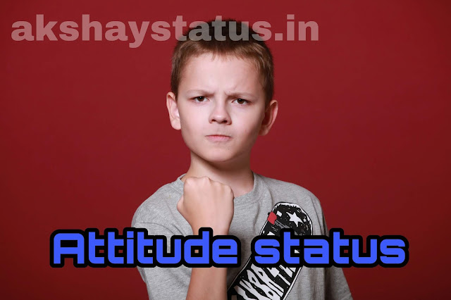 hindi attitude status by.  akshaystatus.in