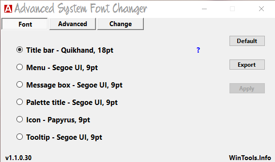 Advantages of System Font Size Changer