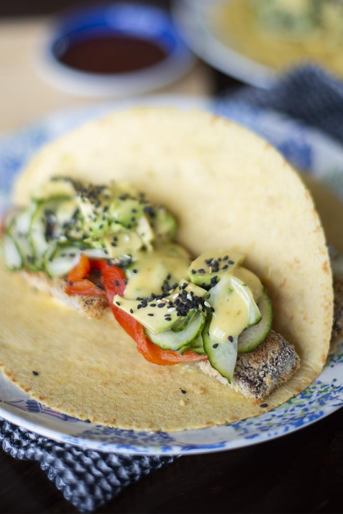 Japanese taco recipe