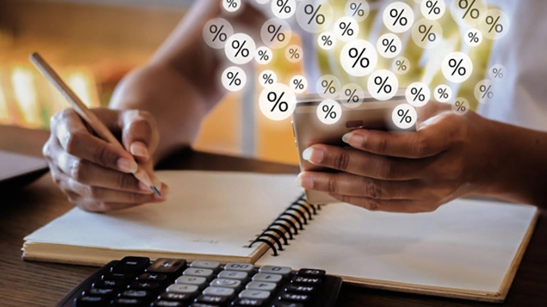 Как рассчитать сложный процент