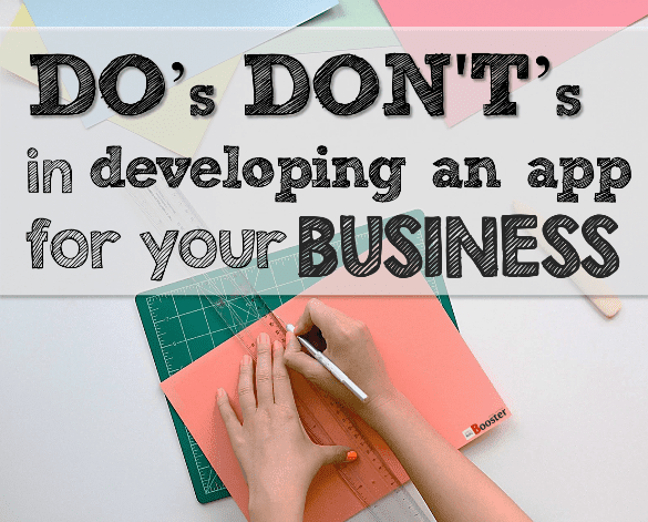 Dos and Donts For Building A Successful Business App