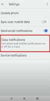 google classroom not getting all notifications