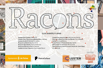 mapa expo racons comicnostrum 2020