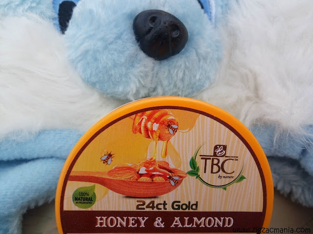 TBC By Nature 24ct Gold Honey and Almond Winter Care Nourishing Cream