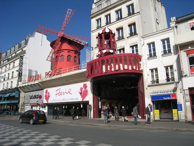 Moulin Rouge, Montmartre