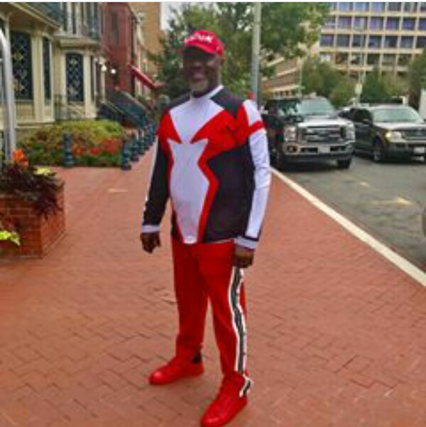 Photos: Senator Dino Melaye paints Washington D.C red