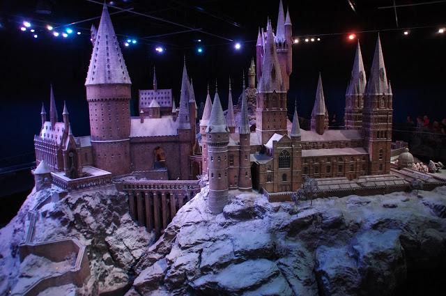 Hogwarts Castle Warner Brothers Studio Tour