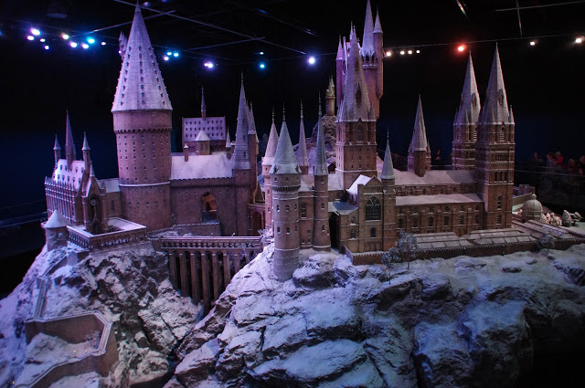 Hogwarts Castle Warner Brothers Studio Tour