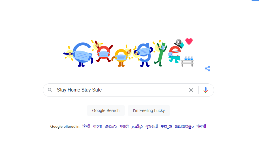 Google's special doodle, appealing to citizens to get vaccinated, Check details