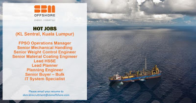 SBM Offshore Malaysia Jobs