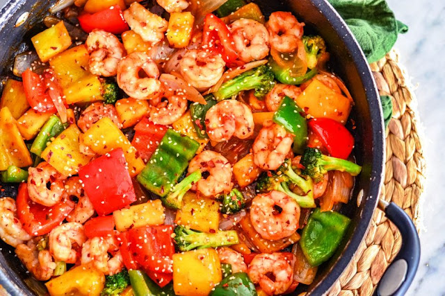Sweet and Sour Chinese Shrimp - 2