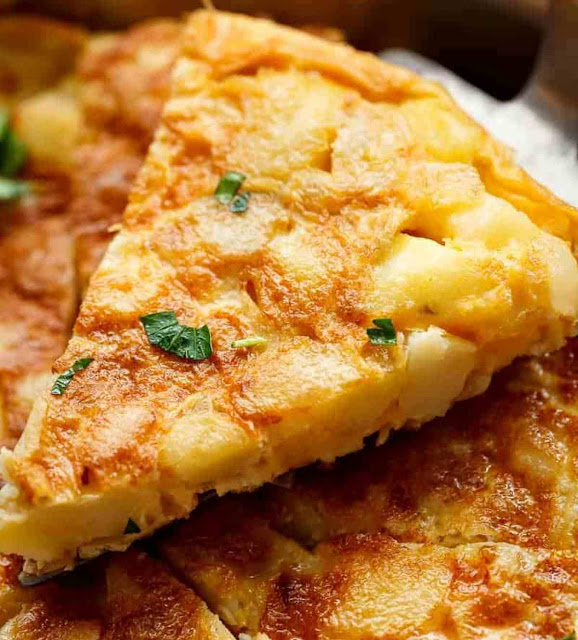 How to make potato omelet at home