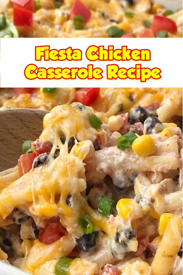 #Fiesta #Chicken #Casserole
