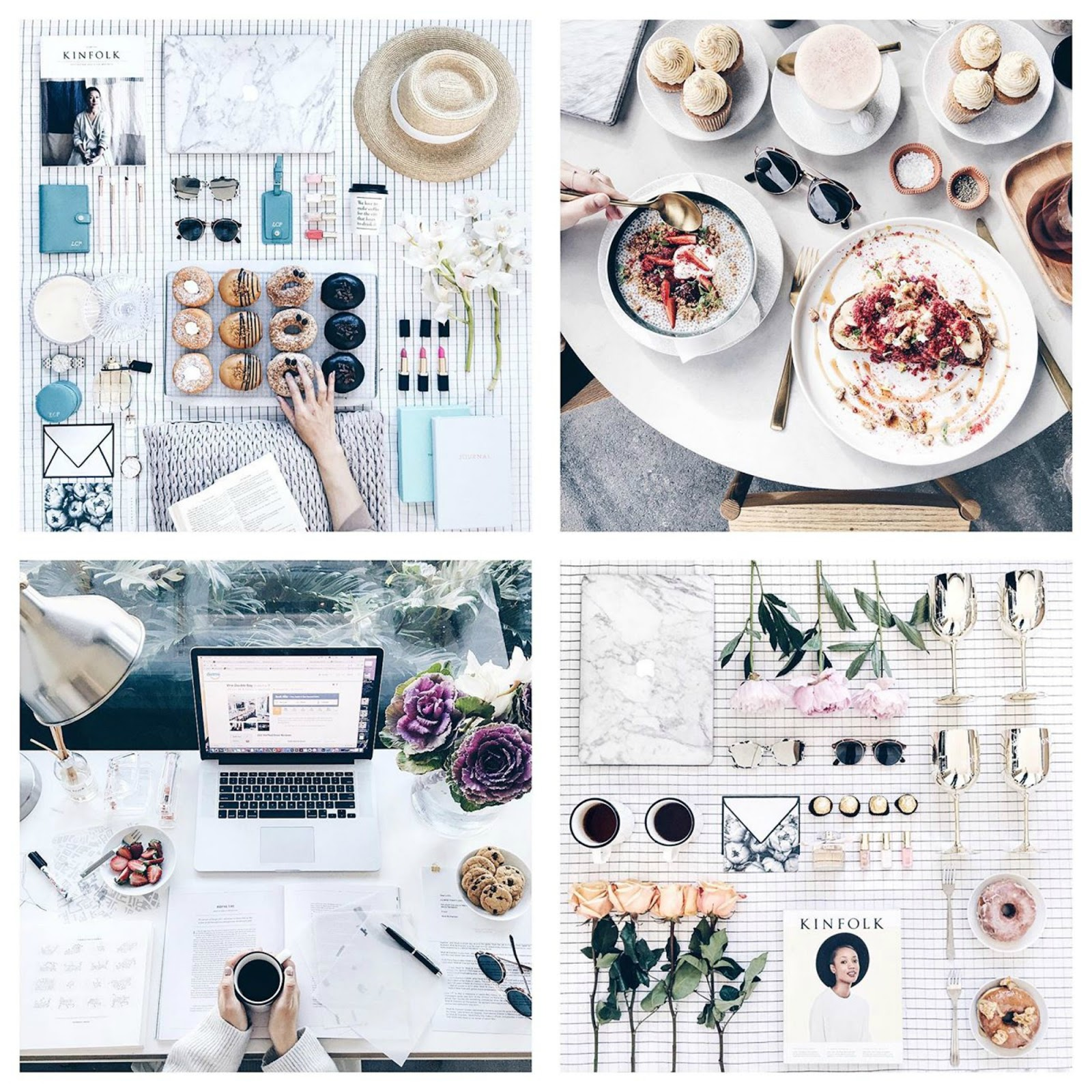 Top Flatlay Instagrams