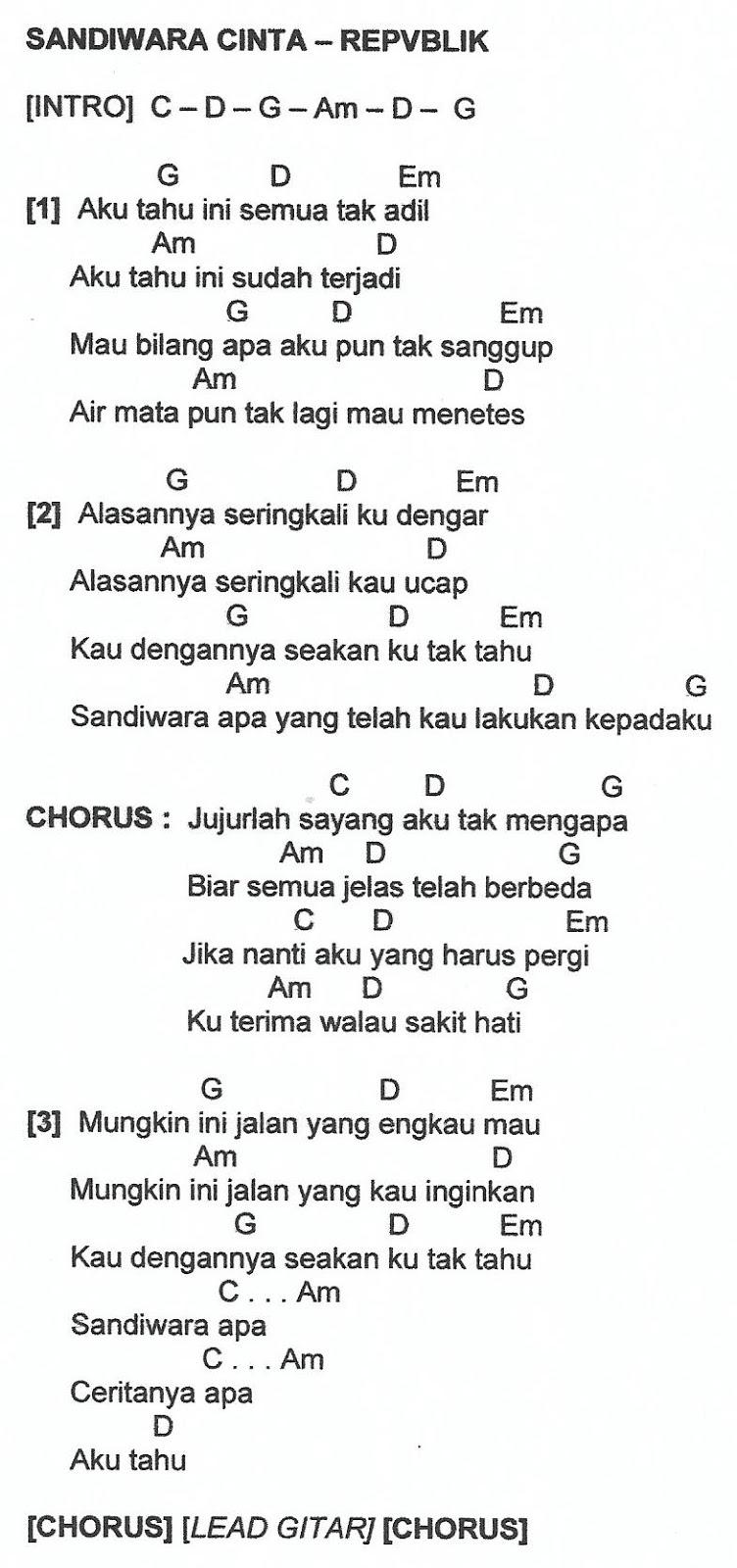 Kunci Gitar Lagu Sandiwara Cinta : kunci, gitar, sandiwara, cinta, شفاف, داكن, منطقة, Chord, Gitar, Ardila, Sandiwara, Cinta, Dsvdedommel.com