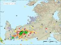 Jordskalv på Reykjanes kan vara magmarörelser
