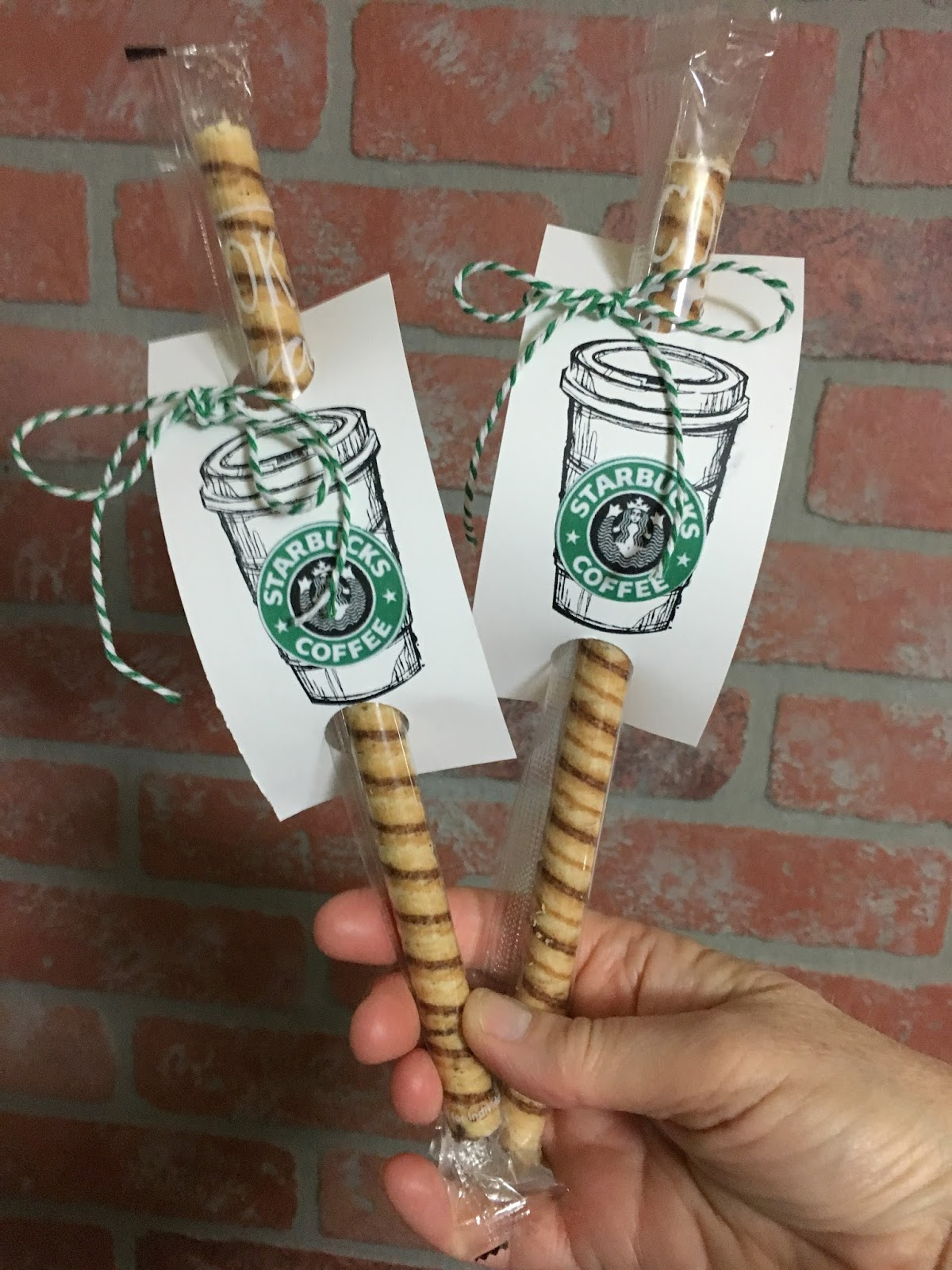 Thoughts That Stick Starbucks Cookie Straws