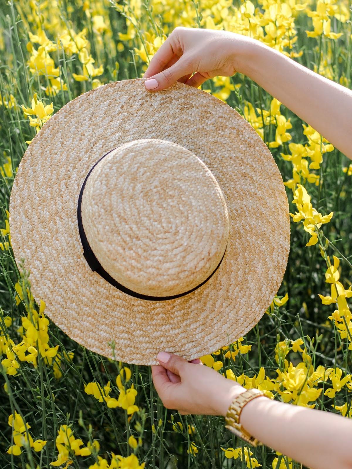 straw hat asos