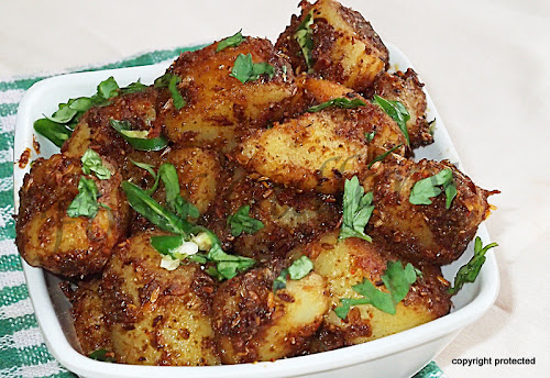 Jeera Aloo, Cumin potatoes